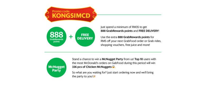 Grab Food Promo Code