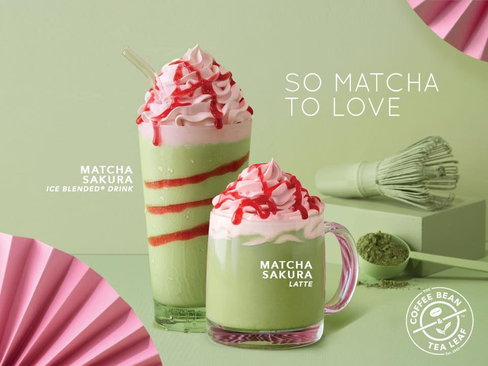 Coffee Bean S New Sakura Matcha Drink Might Be Your Next Favourite