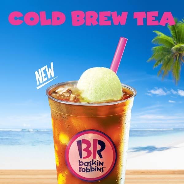 baskin robbins cold brew tea