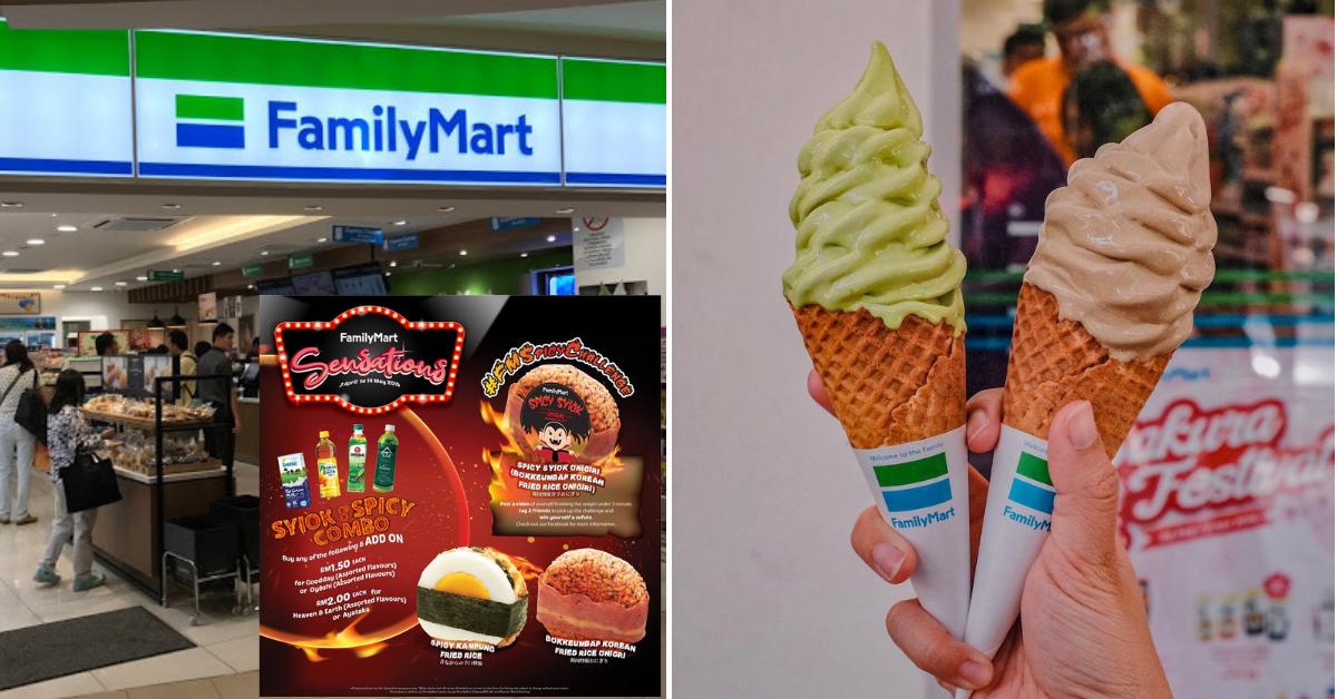Check Out Family Mart's April Sensations!