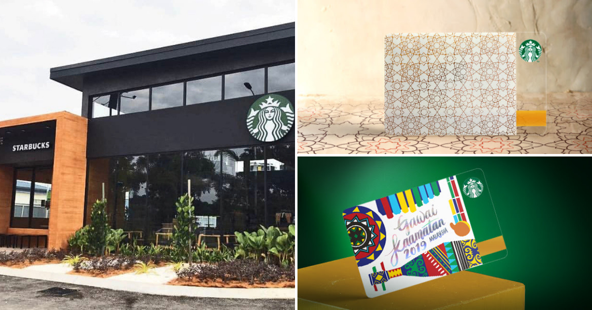 starbucks aidifitri card and may 2019 promotions