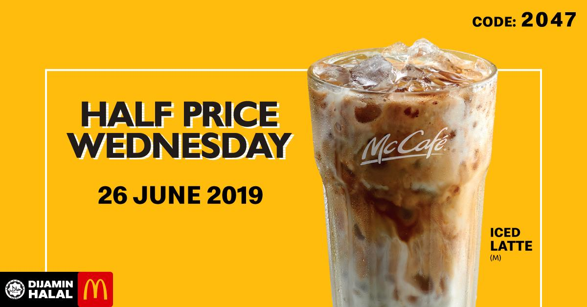 Iced Latte Is Up For Grab At Half Its Price For McCafe Lovers On