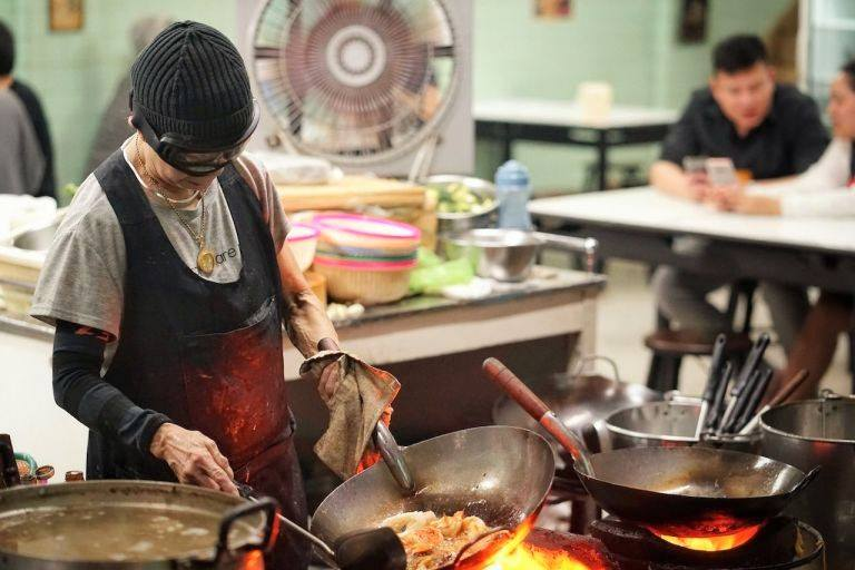 Jay Fai with a Michelin star, featured on Netflix, and a Street Food Legend