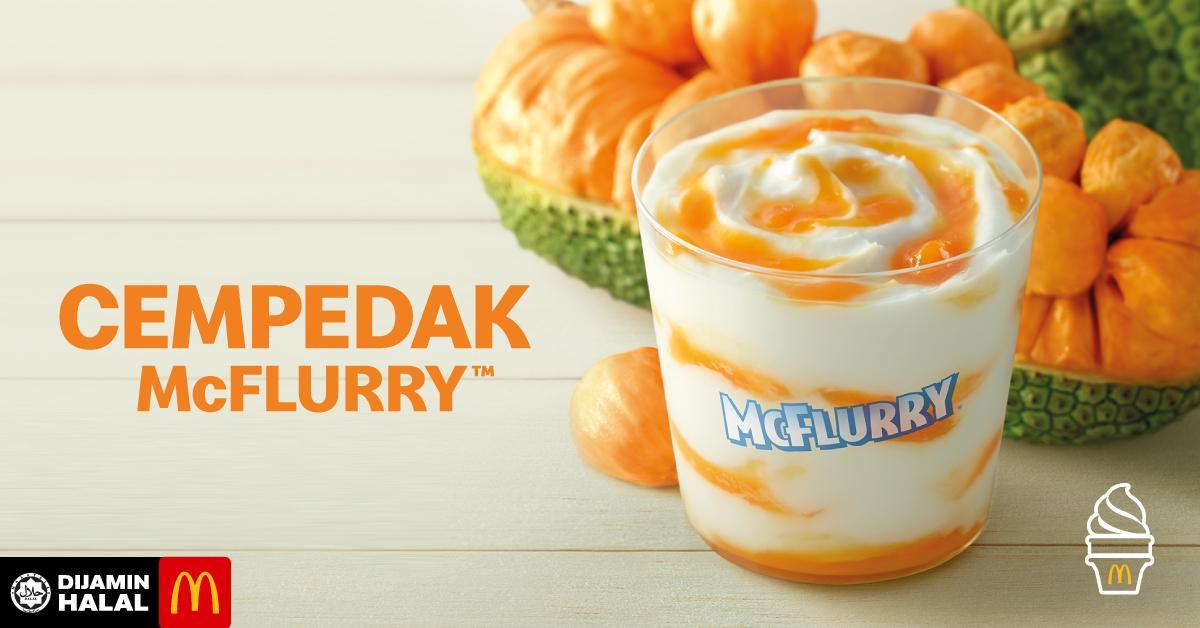 Cempedak McFlurry in McDonald's