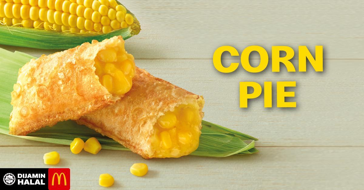 Corn Pie in McDonald's