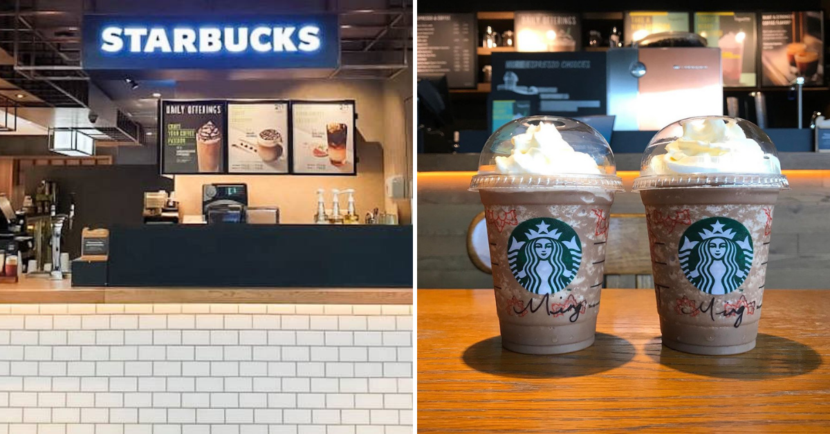 Starbucks buy 1 free 1 July 2019
