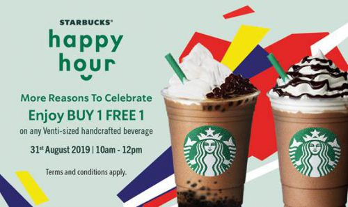 Starbucks Merdeka Promo