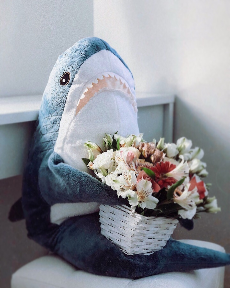 IKEA Shark Soft Toy