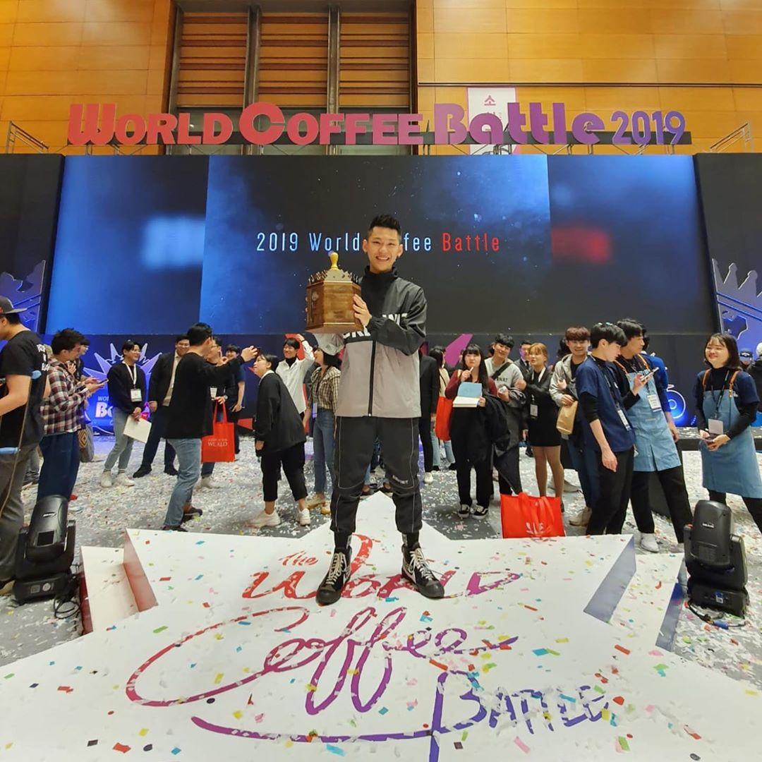 Malaysian champions World Latte Art Battle 2019