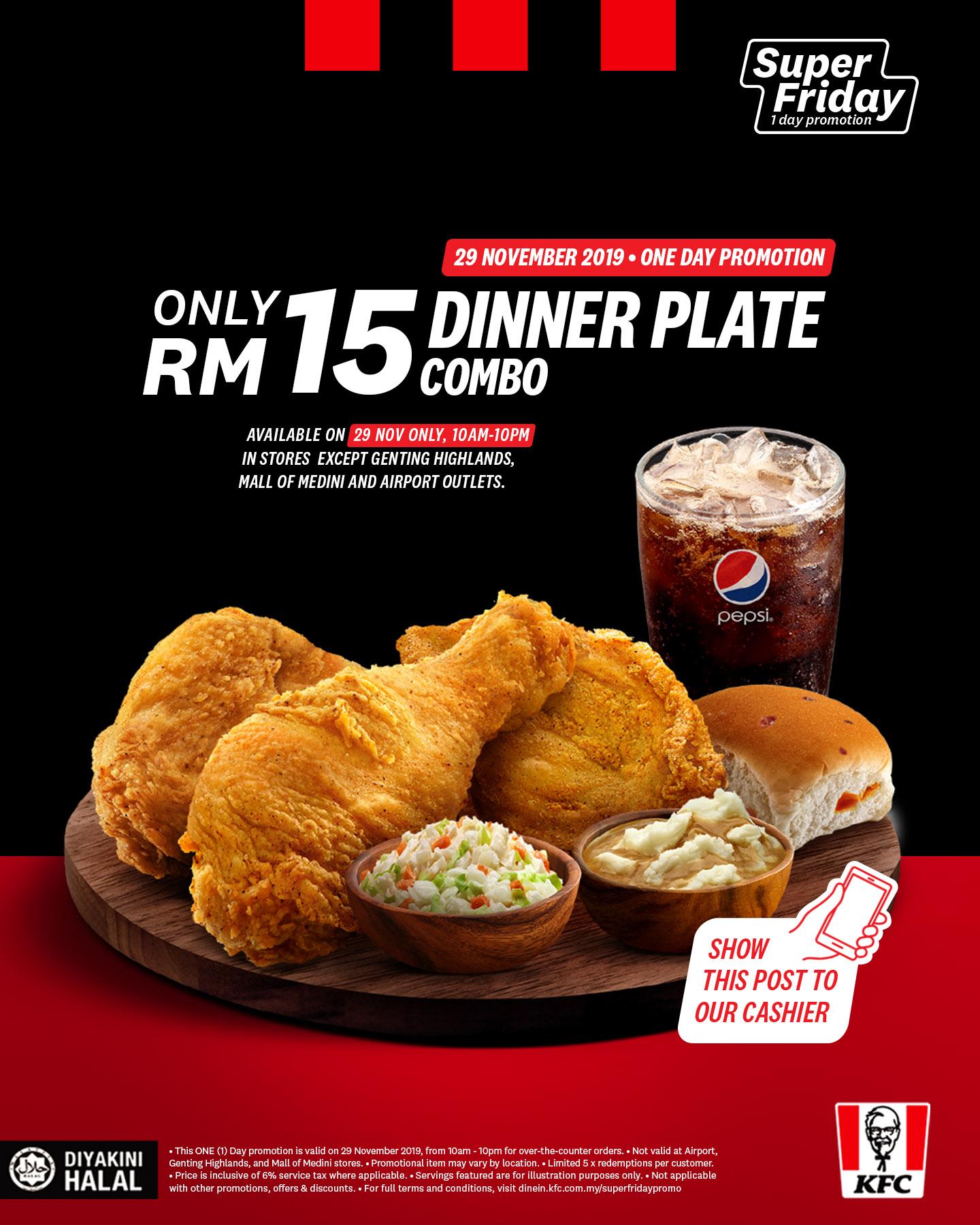 KFC Black Friday Sale