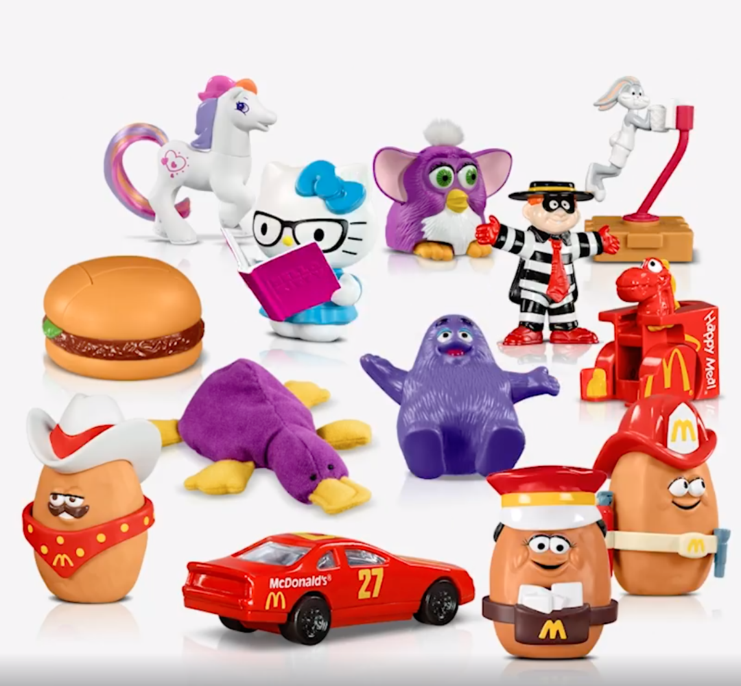 McDonald's Malaysia Brings Back Iconic Toys