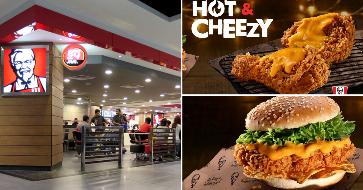 KFC Hot &. Cheezy