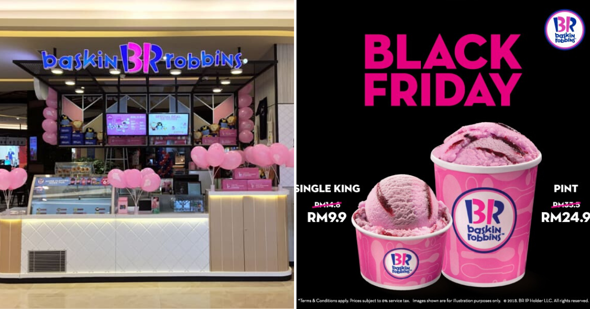 Baskin Robbins Black Friday Sale
