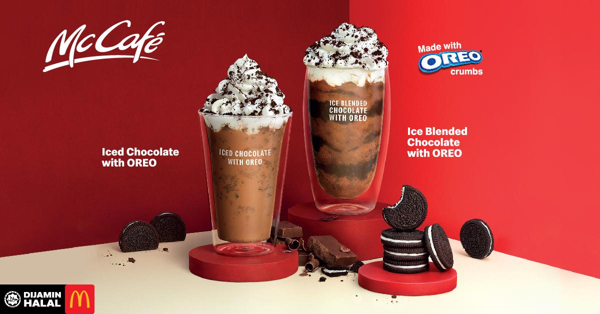 Ice Blended Oreo McDonald's