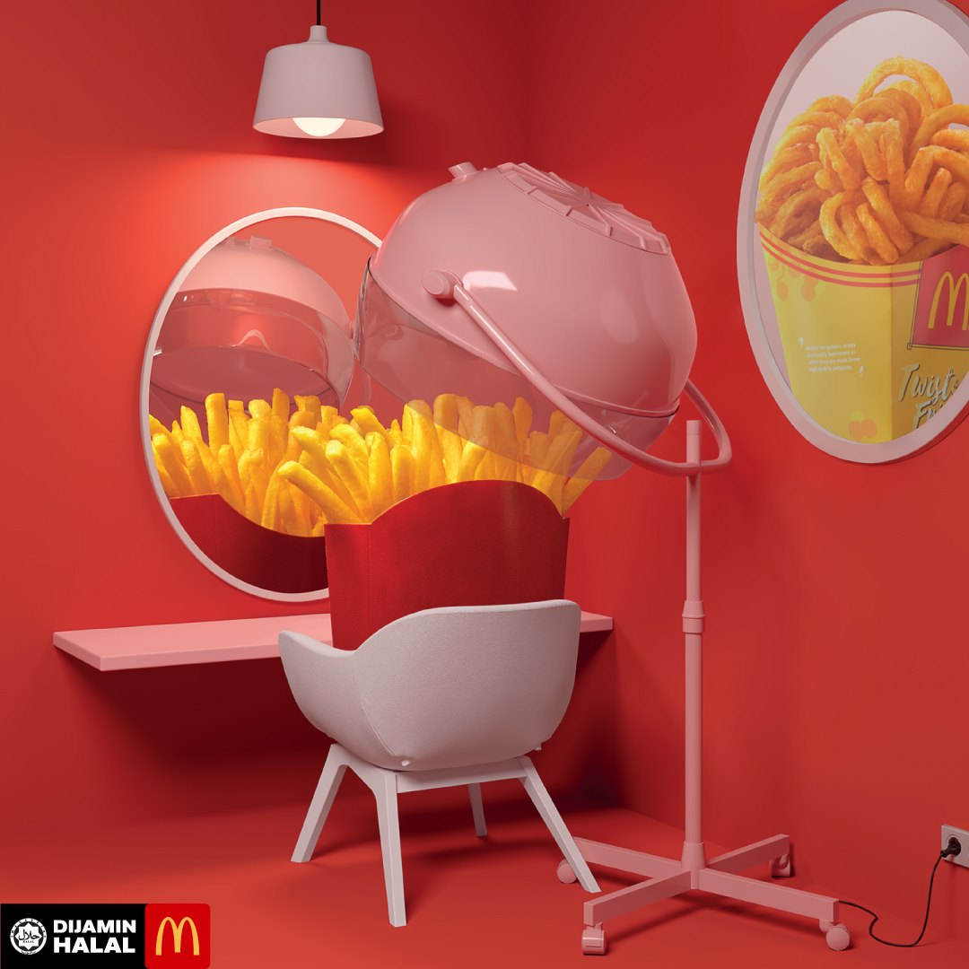 McDonald's Twister Fries