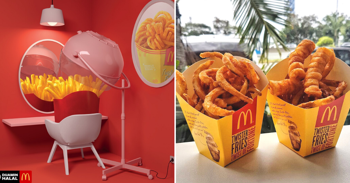 McDonald's Twister Fries